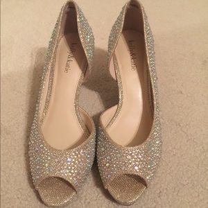 Kelly and Katie AB crystal shoes